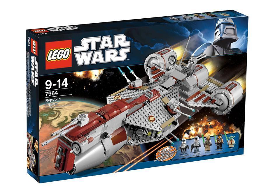 Lego StarWars Clone Wars Republic Frigate 7964 NEU & OVP