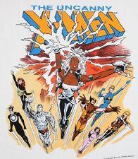 XL * NOS vtg 80s 1988 The Uncanny X-MEN marvel comic t shirt * 92.3