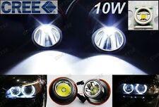 CREE LED Angel Eye Halo Light 10W For BMW 525i 530i M5 645ci 650i 750i 760i 135