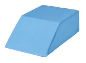 Easy-Comforts-Bed-Wedge-Leg-Lift-Cushion-Pillow-Blue-Blue