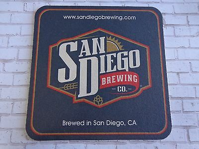 Beer Brewery Coaster ~ SAN DIEGO Brewing ** Add/'l Coasters $0.25 S/&H Worldwide