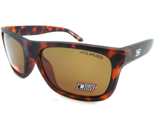 Dirty Dog Polarized Boom Sunglasses Matt Tortoise Brown Polarised 53385