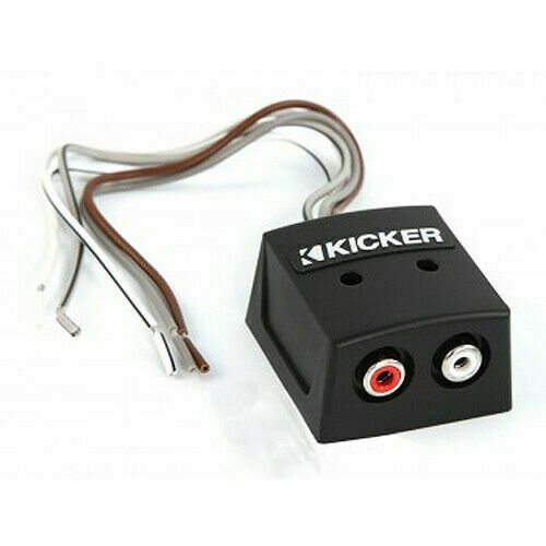 Kicker KISLOC 2-Channel K-Series Speaker Cable To RCA Adapter with Line out  Converter for sale online | eBay