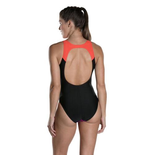 collo supporto bagno di da Womens hydrasuit Speedo per nuoto busto da con con 538 Swimsuit alto Costume 8w ApBycOB