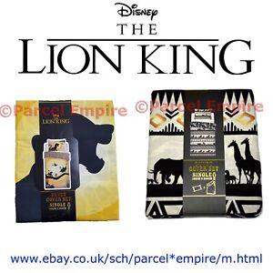 Disney The Lion King Double Duvet Quilt Cover Set Boys Kids Bed Gift Simba Pumba