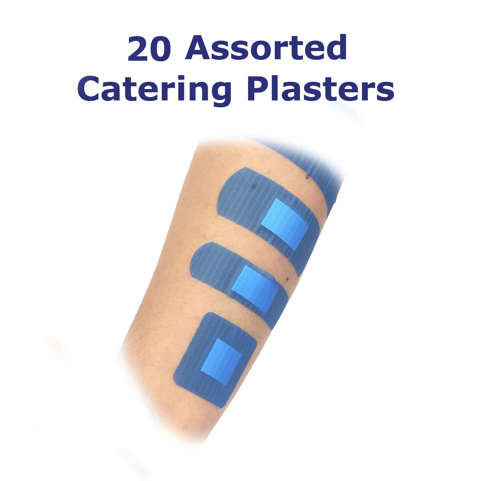 20 Assorted Qualicare Premium Catering blue Pronto Soccorso Ferita Ceredti