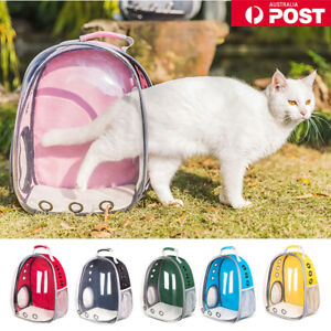 6caf9ddc3bff Pet Outdoor Carrier Backpack Cat Dog Puppy Travel Portable Space ...