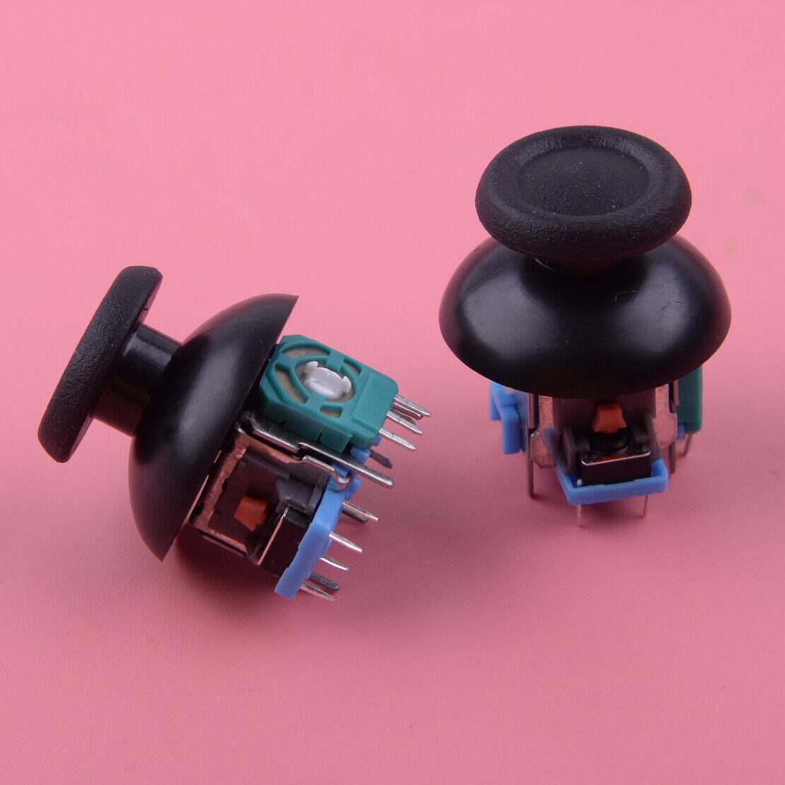 2pcs For PS4 Controller Analog Thumb Joystick Repair Kit Dualshock Replacement