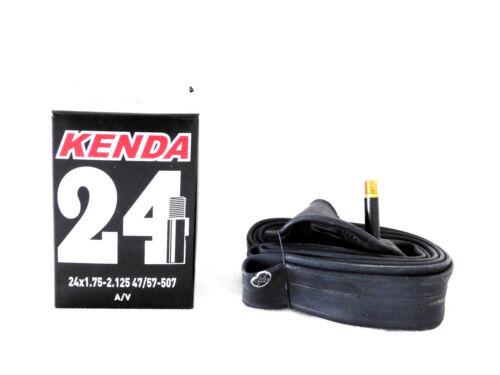 2x Fahrradschlauch  24 Zoll Autoventil  Kenda Neu