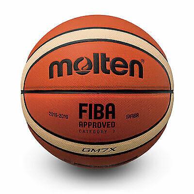 FIBA Approved 5x MOLTEN BGG7X Basketball GG7X Größe 7 DBB geprüft