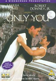 Only-You-DVD-1999-Marisa-Tomei-Jewison-DIR-cert-PG-FREE-Shipping-Save-s