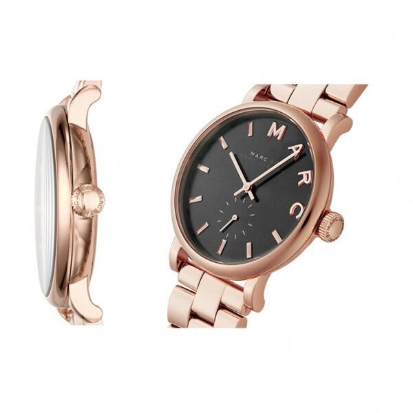 0f49a236f517 Marc Jacobs Mbm3332 Ladies Rose Gold Baker Mini Watch for sale online