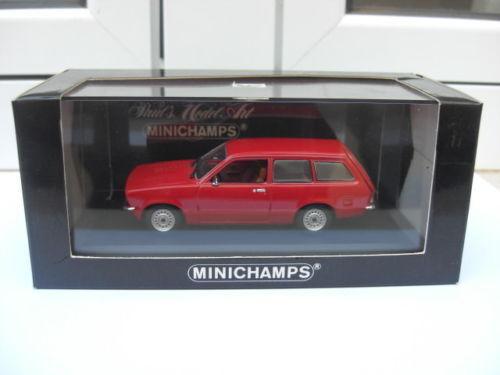 Opel Kadett C caravan 1973-77 rosso Minichamps 430045611 MIB 1 43 vauxhall rekord
