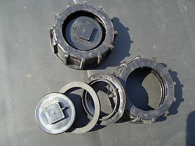 Liefern Heizöltank Tankverschluss , 2 Stück Neu Ausgezeichnet Im Kisseneffekt