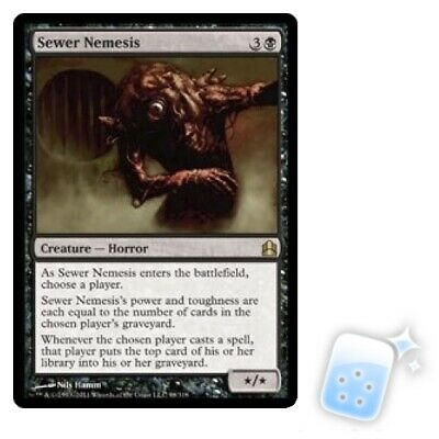 Magic The Gathering Sewer Nemesis Mystery Booster