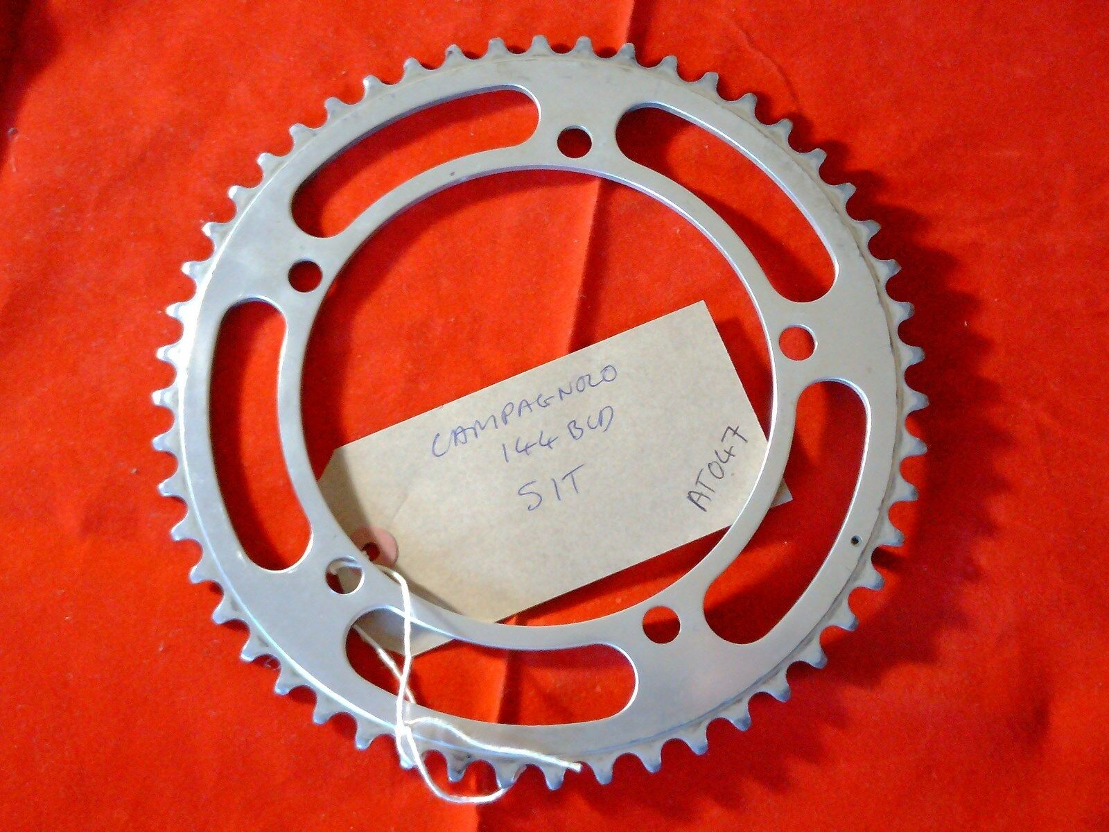 51 TOOTH 144BCD CAMPAGNOLO RECORD CHAINRING  | Moderne Muster