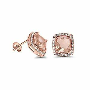 1-00-Carat-Round-Yellow-Morganite-Stud-Earrings-in-14K-Rose-Gold