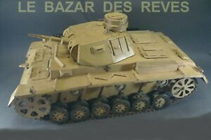 Tank-PANZER-III-Instructions-armee-Allemande-1942