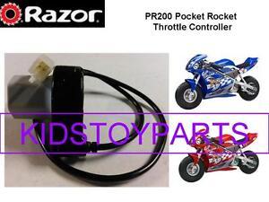 Razor PR200 V7+ Pocket Rocket Scooter Twist Grip Throttle 4 Pins / 4 Wires