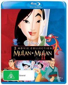 Mulan-Mulan-II-Blu-ray