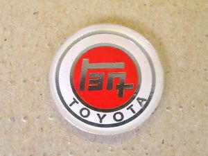 RED GT Grand Touring Sport Badge Gear Knob Key Fob Auto Car Emblem Alexander NOS