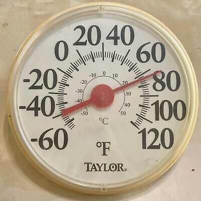 """Taylor 12/"""" Indoor and Outdoor Thermometer Temperature//Humidity Gauge FREE SHIP"""