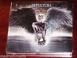 Sepultura kairos deluxe edition cd dvd set 2011 bonus tracks nb image is loading sepultura kairos deluxe edition cd dvd set 2011 thecheapjerseys Choice Image