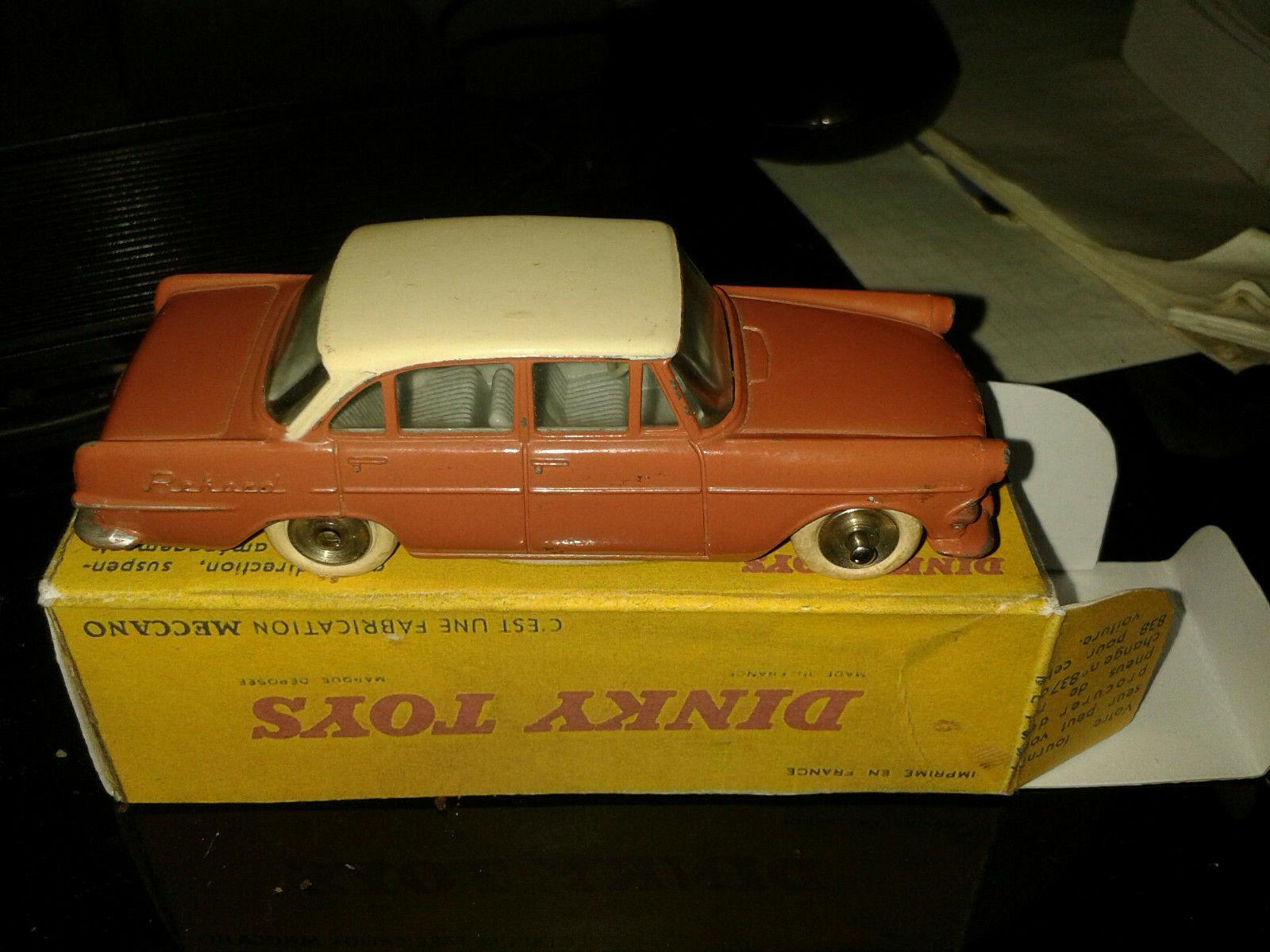 Très belle Opel Rekord Dinky Juguetes France, réf 554 de 1961, avec boîte repro