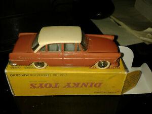 Très Belle Opel Rekord Dinky Toys France, Réf 554 De 1961, Avec Boîte Repro