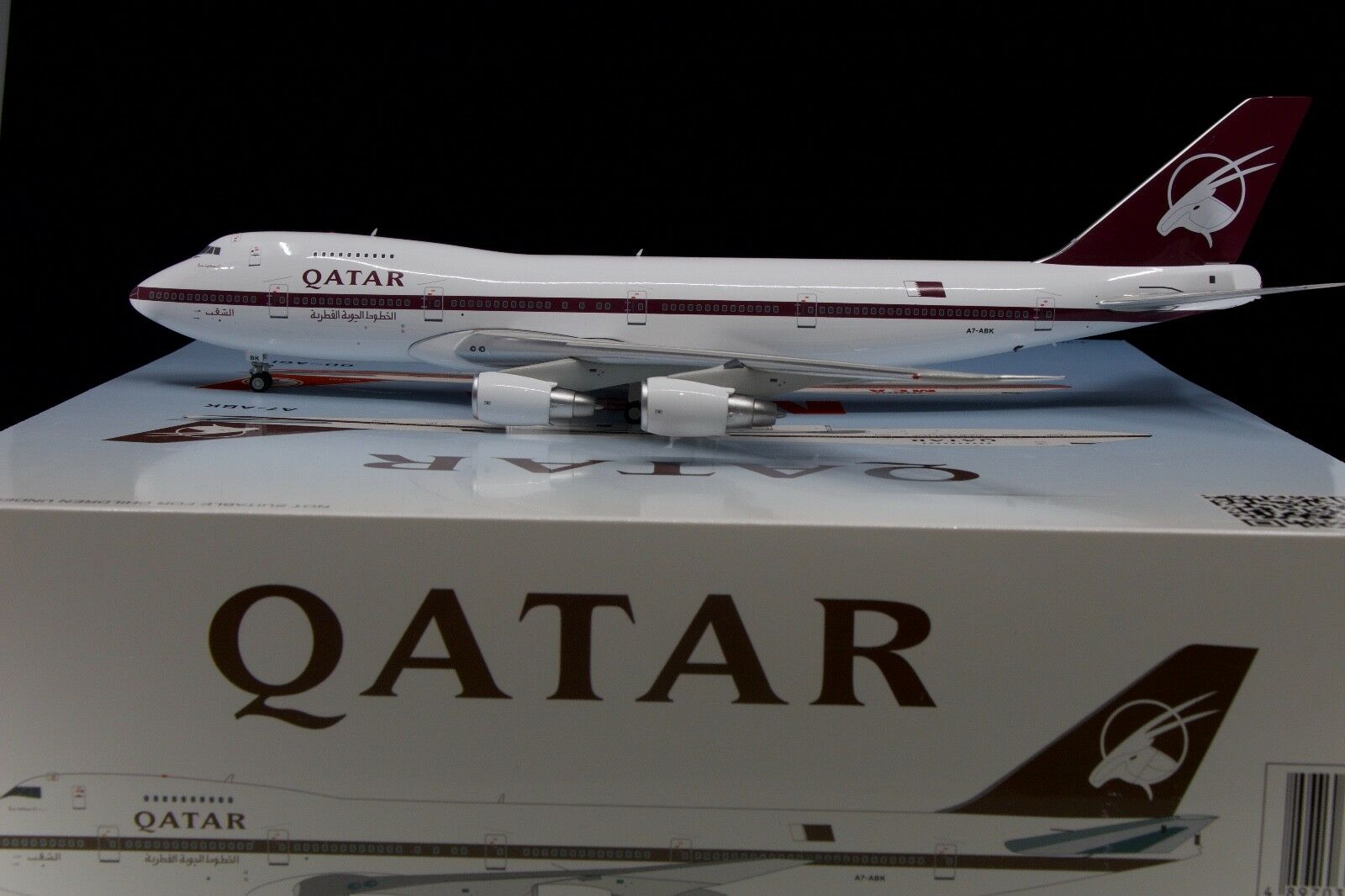 Inflight200 1 200 Qatar Airways 747SR-81 A7-ABK