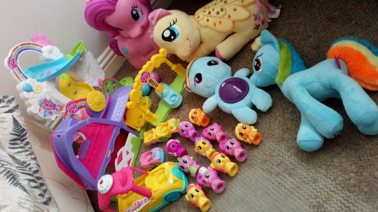 Playskool First My Little Pony Bundle pkus light up fluttershy night time Dash