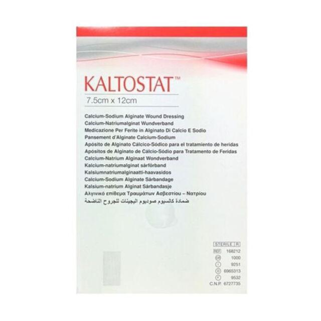 Kaltostat Alginate Dressing 7.5cm x 12cm Sterile Non-Woven Haemostatic ELS231