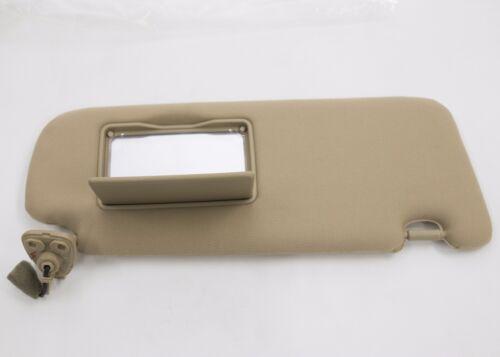 Fit: Hyundai SONATA 2006-2010 Beige RH Passenger Side Inner Sun Visor Fabric