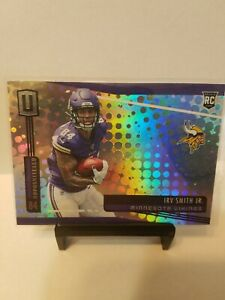 Irv-Smith-Jr-2019-Panini-Unparalleled-244-ROOKIE-Minnesota-Vikings