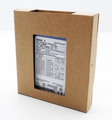 Knick varitrans B 13000f1 norma señal-trennverstärker-unused//embalaje original