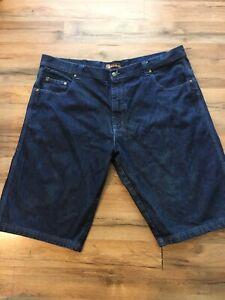 Risk Jeans Co Men's Jean Shorts Blue Sz 46 100% Cotton