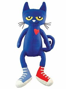 Pete the Cat Plush Doll Soft Figure 14 inch Cartoon Stuffed Animal Toy Gift USA