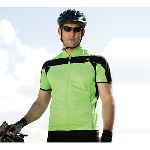 Spiro Mens Bikewear Top Sports Active Wear Cool Dry Half Sleeves Tee Tshirt Tops