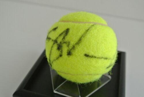 Stan Wawrinka Signed Autograph Tennis Ball Display Case Sport AFTAL /& COA