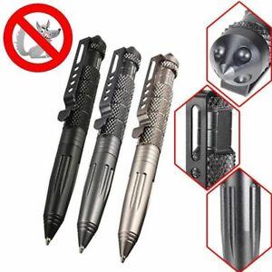 Aluminium-Tactical-Pen-Taktische-Stift-Glass-Breaker-Notfall-Outdoor-Survival