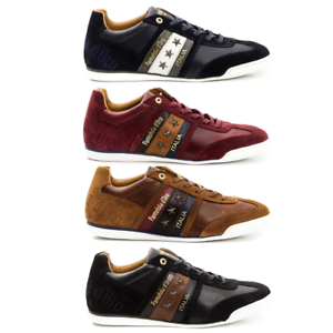 Scarpe-Sneakers-Pelle-Uomo-Pantofola-d-039-Oro-Shoes-Men-Imola-Leather-Low-10183031