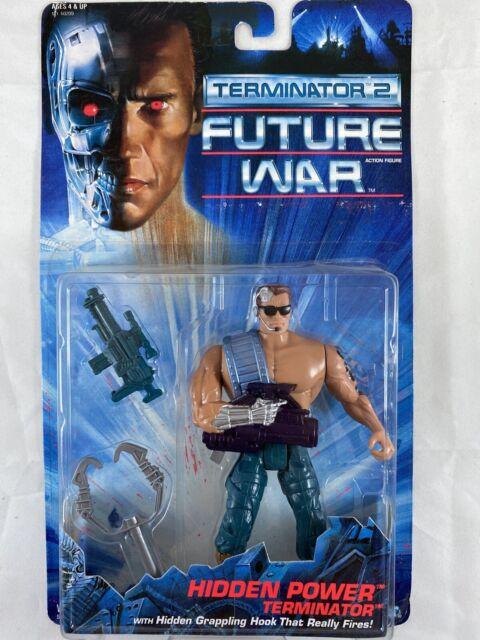 Kenner 1992 Terminator 2 Future War action figure Hidden Power Terminator R20