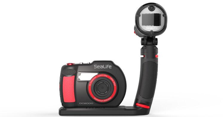 Sealife DC2000 Pro Flash Unterwasserkamera 20 Megapixel Megapixel Megapixel mit Sea Dragon Blitz a07d57