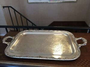 Vintage-King-Edward-Silverplate-Tray-National-Silver-Co-5016-With-Handles-25x14