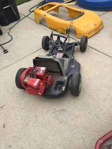 Details about Corvette Go Cart Vintage Funders Kart