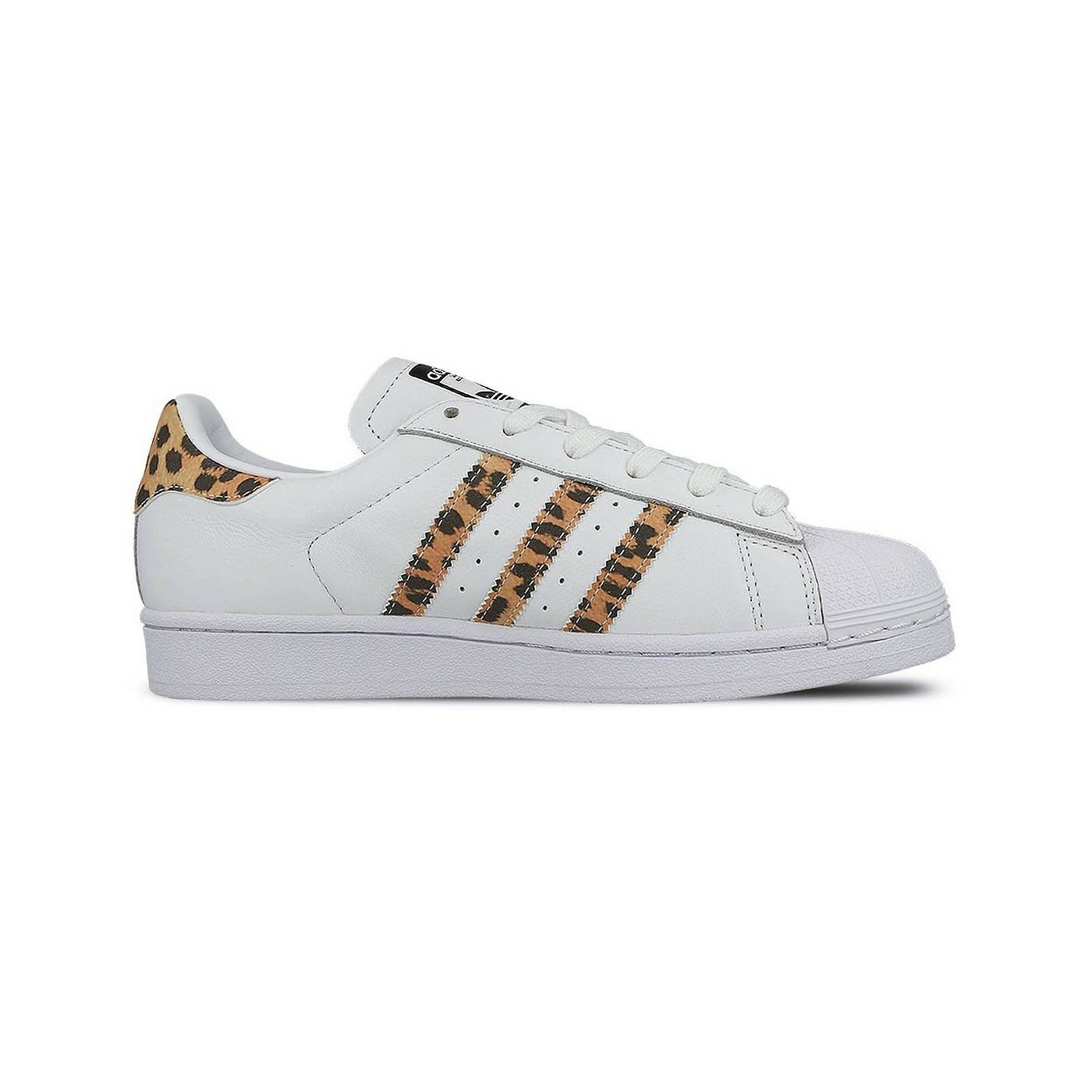 Adidas Superstar White Womens Sneakers CQ2514