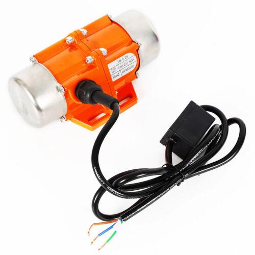 AC 220V 40W Vibration Vibrating Motor 1 Phase Asynchronous Vibrator CNC 3000RPM