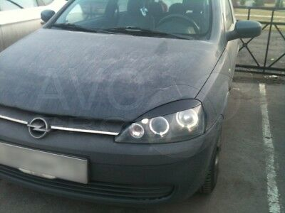 Vauxhall Opel Astra G 98-05 eyebrows headlight spoiler lightbrows eye lids brows