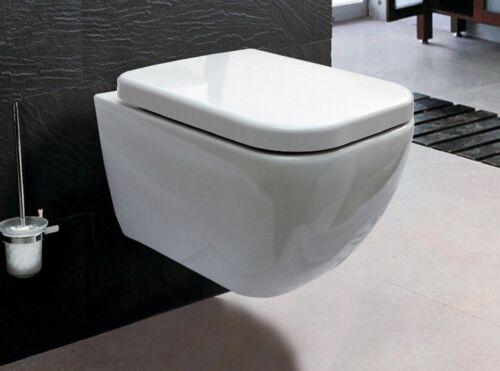 WC suspendu,ENSEMBLE WC SUSPENDU cuvette siège soft close  CH101