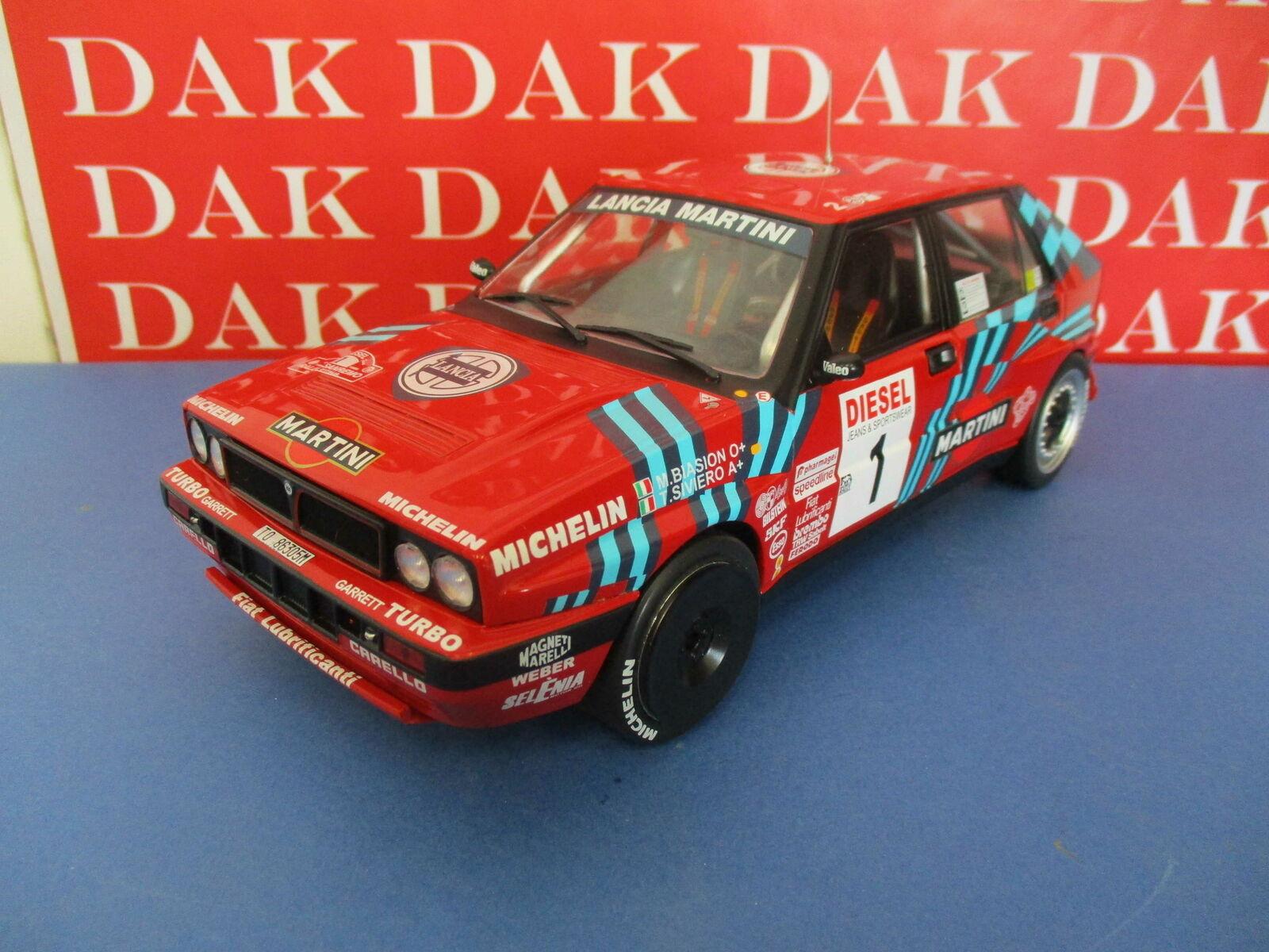 Die cast 1 18 Modellino  Auto Lancia Delta HF Integrale 16V San Remo 1989 M.Bi...  no.1 en ligne